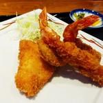 くわとろ - 白身魚とエビフライ