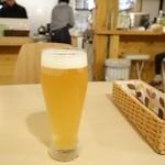 石窯ポポロ - 2015年2月 はっさく酵素ビール【550円】ちゃんとはっさくやな~(´∀`)