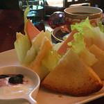 べにや珈琲店 - 料理写真:サンドイッチセット1070円
