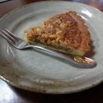 カフェ いっぽ   - 胡桃のケーキ