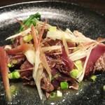 鉄板焼 grow - シェフの海鮮一品 千葉県 鰹のタタキ