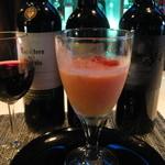 Bar Kitchen Keep - 日替わりの本日のスープの一例   トマトの冷製スープ