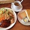 スウィート・オニオン - 料理写真:ランチB(手ごねデミグラスハンバーグ&もち豚焼肉)(1,080円)