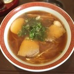 浅草軒 分店 - シンプルなのに                             なぜか超美味しい                             王道ラーメンですね(*^^*)