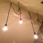 ゆるり家 - カウンター上の照明