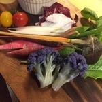 石蔵DINING 今尽 - 彩り野菜のバーニャカウダ