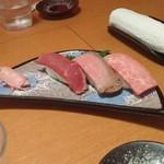 39310190 - 近江牛の握り寿司!