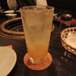 SATOブリアン - 韓国ゆず茶ハイ2015.6