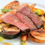 レストラン ビブ - ◆熊本県産熟成赤毛和牛ランプのロースト