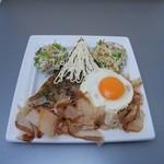 三八 - 料理写真:富士山お好み焼き