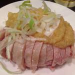 39317290 - 蒸し鶏生姜ソース 小皿