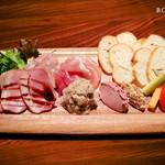 バー ボルシェ - 前菜の盛り合わせ