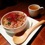 バー ボルシェ - 本日の〆飯(スープ付き)