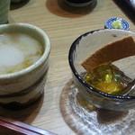 39321148 - 蕎麦湯&デザート