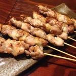 燦醸小町 - 知床鶏串180円