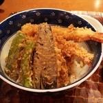驀仙坊 - 海老天丼