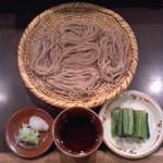 二本松 - 二本松(長野市鶴賀権堂町)ざるそば650円〜接客も素晴らしい!