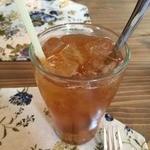キッサ クローバー - 気まぐれDrink、iced梅&杏のジャムティー