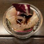 京都ダイナー - お通し(300円)。