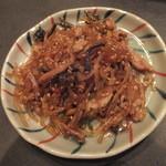 厳選島豚しゃぶしゃぶ、すき焼きせいりゅう - チャプチェ