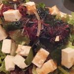 厳選島豚しゃぶしゃぶ、すき焼きせいりゅう - サラダ