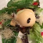 イーストサイド・カフェ - 半熟玉子とラタトゥイユのサラダ
