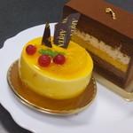 お菓子のアリタ - 江川オランジェとプレミアム石畳ショコラ