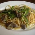ボラチタ - 砂肝とゴーヤのスパゲティ(15-06-2)