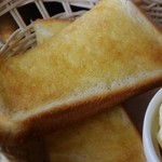 福ふく珈琲 - トースト