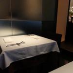 KINOE - テーブル席の様子