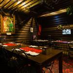 南国食堂ヤシの樹 - パーティ用配置テーブル