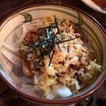 とりビアー 渋谷肉横丁店 - 鶏ユッケ 480円