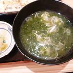 目利きの銀次 - 美味しい青海苔のお味噌汁