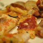 グランサンク - ピザ お魚2種 ローストポーク
