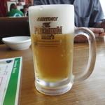 エアポートグリル&バール - 生ビール