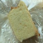 カフェ ブランコ - 料理写真:シフォンケーキ (プレーン)