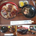 うな博 - うな丼特上 うな博(愛知県幸田町)食彩品館.jp撮影