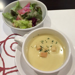 39341272 - ランチコース スープ サラダ