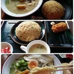 まるせいラーメン - 塩らーめん&半炒飯