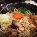 麺屋わっしょい - 塩油そば 魚介スープとともに