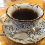 洋食のまなべ - 薫り高いホットコーヒー