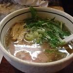 麺屋 旬 - 塩ラーメン ¥650