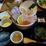 釜焼鳥本舗おやひなや - 海鮮丼~~980円~