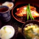 なりひら - 真鯛のかぶと煮定食@1,000