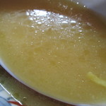 龍上海 - スープの感じ。      27.6.26
