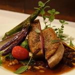 ラ・ポルタ・フェリーチェ - フランス産鴨もも肉のローストのドルチェフォルテ