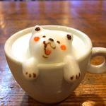 カフェ チョコッティー - 料理写真:Sサイズふわもこアートドリンク(非売品)