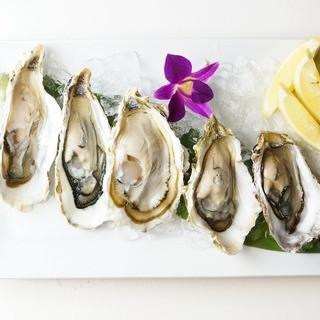 毎日産地を変えてより美味しいところから入荷される牡蠣!