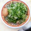 Ramenfuji - 料理写真:煮卵入りねぎかすラーメン