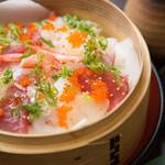 浅葱  - 贅沢海鮮蒸し寿司